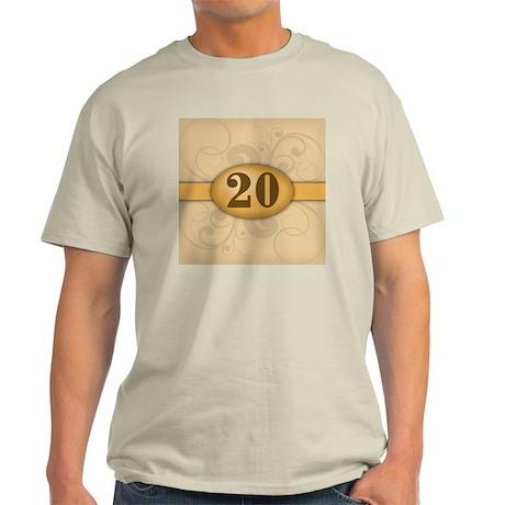 20th Birthday / Anniversary Light T-Shirt
