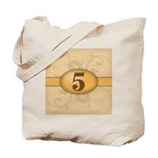 5th Birthday / Anniversary Tote Bag