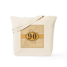 90th Birthday / Anniversary Tote Bag