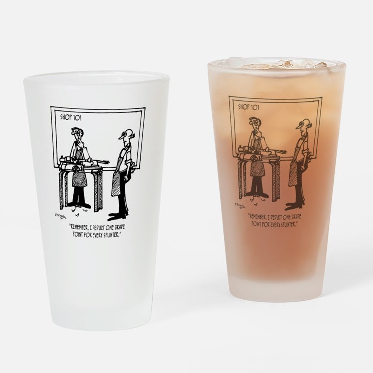 Deduct From Grade For Every Splinte Drinking Glass