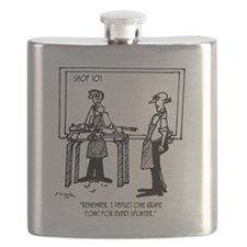 Deduct From Grade For Every Splinter Flask