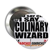 "I am a Culinary Wizard 2.25"" Button"