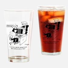 Computer !@#$%* Language Drinking Glass