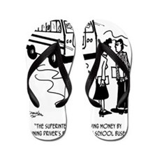 Drivers Ed Uses a School Bus Flip Flops