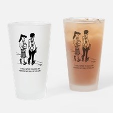Flunked Lunch Drinking Glass