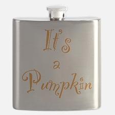 Its a Pumpkin (Orange) Flask