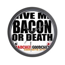Give Me Bacon or Death Wall Clock