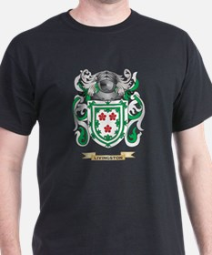 Livingston Coat of Arms - Family Cres T-Shirt