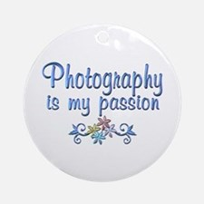 Photography Passion Ornament (Round)