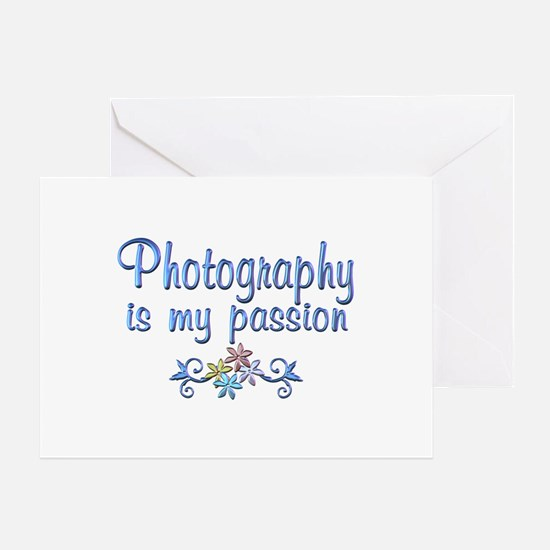 Photography Passion Greeting Card