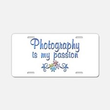 Photography Passion Aluminum License Plate