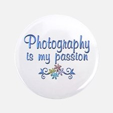 """Photography Passion 3.5"""" Button (100 pack)"""