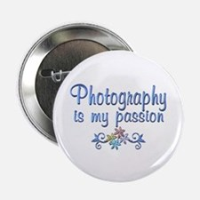 "Photography Passion 2.25"" Button (100 pack)"
