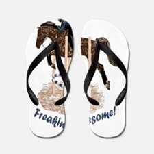 Horses Are Freakin' Awesome Flip Flops