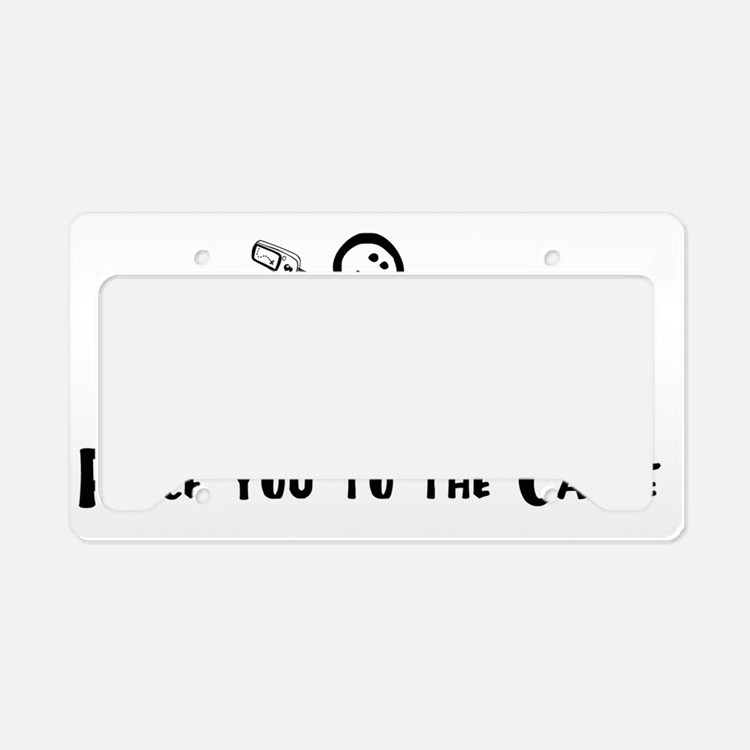 Geocaching - Race you to the  License Plate Holder