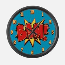 bam3-CLK Large Wall Clock