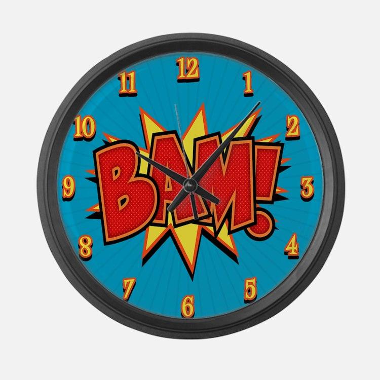 bam3-CLK Large Wall Clock