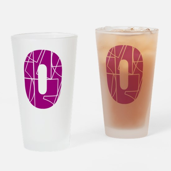 bb-front-cnumber Drinking Glass