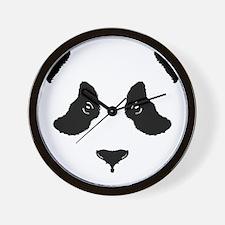 6x6-for-wt_panda Wall Clock