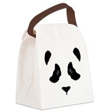 6x6-for-wt_panda Canvas Lunch Bag
