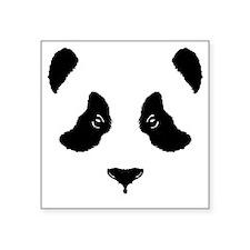 "wt_panda Square Sticker 3"" x 3"""