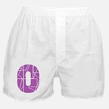 bk-front-cnumber Boxer Shorts