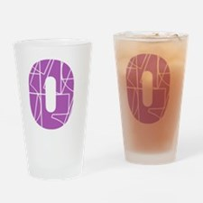 bk-front-cnumber Drinking Glass