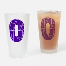 wt-front-cnumber Drinking Glass