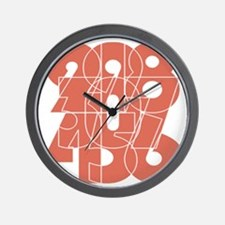lpk_cnumber Wall Clock