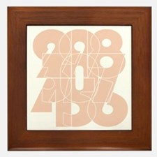 rb_bk_cnumber Framed Tile