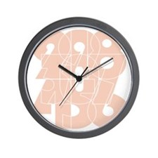 rb_bk_cnumber Wall Clock