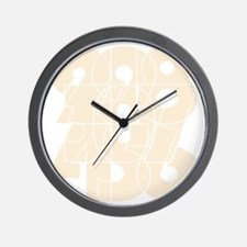 rb_nvy_cnumber Wall Clock