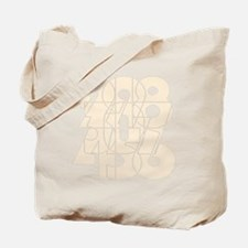 rb_nvy_cnumber Tote Bag