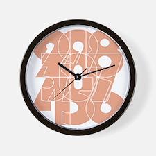 wt_cnumber Wall Clock