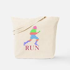 wt_run Tote Bag