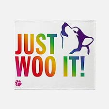 JUST WOO IT! Throw Blanket