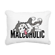 Malcoholic Rectangular Canvas Pillow