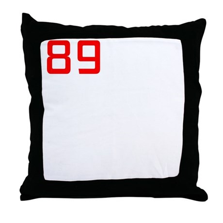 89 and looking for fun Throw Pillow