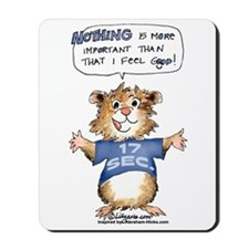 Cartoon Abrahamster Mousepad