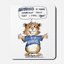 Cartoon Abrahamster Mousepad