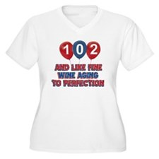 102nd birthday de T-Shirt