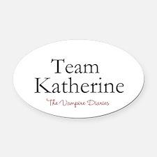 Team Katherine Oval Car Magnet