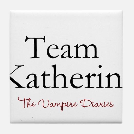 Team Katherine Tile Coaster