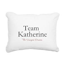 Team Katherine Rectangular Canvas Pillow