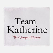 Team Katherine Throw Blanket