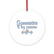 Gymnastics Passion Ornament (Round)