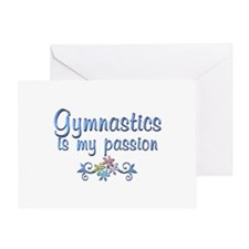 Gymnastics Passion Greeting Card