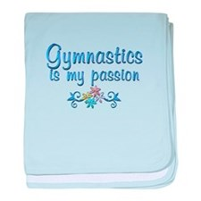 Gymnastics Passion baby blanket