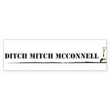 Ditch Mitch Bumper Bumper Sticker
