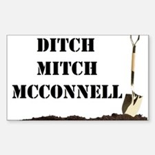 Ditch Mitch Decal